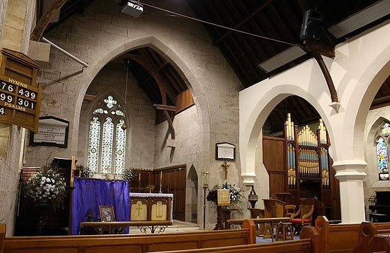Image of the inside of Saint Clements Yass - Yass Valley Anglican Churches