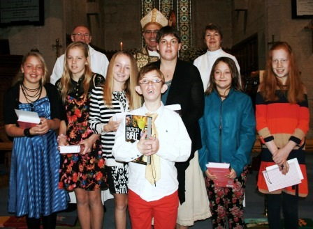 2013 Confirmation Class and Yass Valley Anglican Church