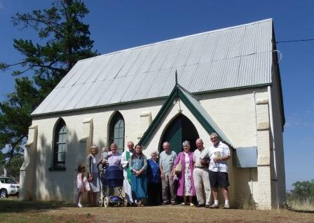 Image of Saint James Bowning 2014 - Yass Valley Anglican Churches